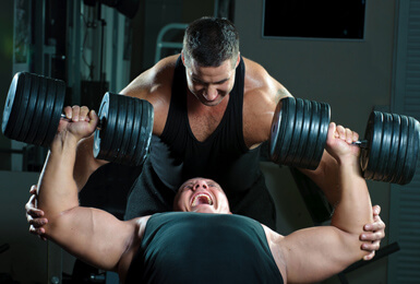 Тренируем грудь