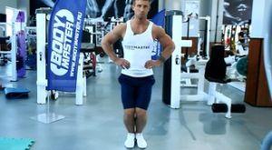 Круговые движения коленями: работающие мышцы и техника выполнения