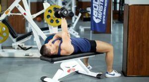 Разгибание гантели супинированным хватом: работающие мышцы и техника выполнения