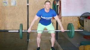 Рывок штанги с уровня бедер: работающие мышцы и техника выполнения