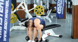 Разведение гантелей сидя в наклоне: работающие мышцы и техника выполнения