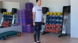 Выпады с гантелями назад: работающие мышцы и техника выполнения