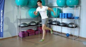 Выпады с выпрыгиванием без смены ног: работающие мышцы и техника выполнения