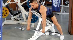 Тяга на наклонной скамье: работающие мышцы и техника выполнения