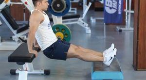 Отжимания на скамье: работающие мышцы и техника выполнения