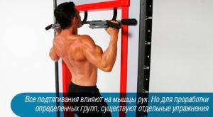 Упражнения на турнике для начинающих, упражнения на руки, спину и пресса дома