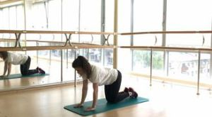 Диагональная планка на четвереньках: работающие мышцы и техника выполнения