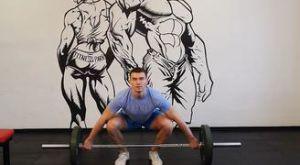 Рывок штанги над головой: работающие мышцы и техника выполнения