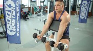 Сгибания Зоттмана на скамье Скотта: работающие мышцы и техника выполнения