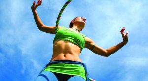Обруч для похудения: как правильно выбрать, упражнения