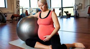 Пилатес для беременных, упражнения