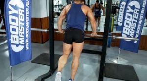 Подъем на носки на одной ноге: работающие мышцы и техника выполнения
