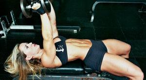 Упражнения для трицепса для женщин, как накачать трицепс девушке