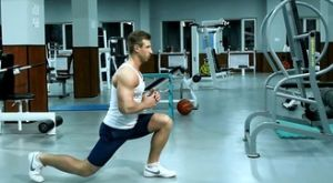 Выпады в прыжке: работающие мышцы и техника выполнения