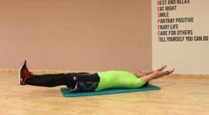 Подтягивания коленей к груди лёжа на спине: работающие мышцы и техника выполнения