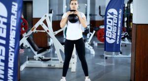 Приседания с гирей: работающие мышцы и техника выполнения