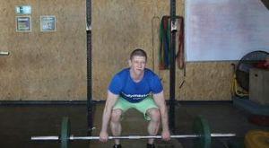 Становая тяга классическая: работающие мышцы и техника выполнения