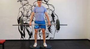 Румынская становая тяга с увеличенным ходом: работающие мышцы и техника выполнения