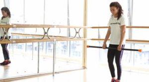 Становая на 1 ноге с бодибаром: работающие мышцы и техника выполнения