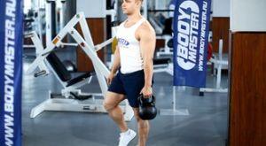 Наклоны вперед на одной ноге с гирей: работающие мышцы и техника выполнения