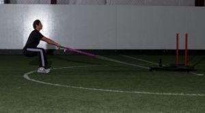 Тяга атлетических саней: работающие мышцы и техника выполнения