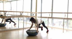 Скалолаз на перевернутом босу: работающие мышцы и техника выполнения