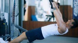 Обратные подтягивания на петлях: работающие мышцы и техника выполнения